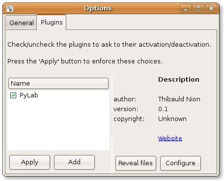 Check the box next to the plugin to activate it